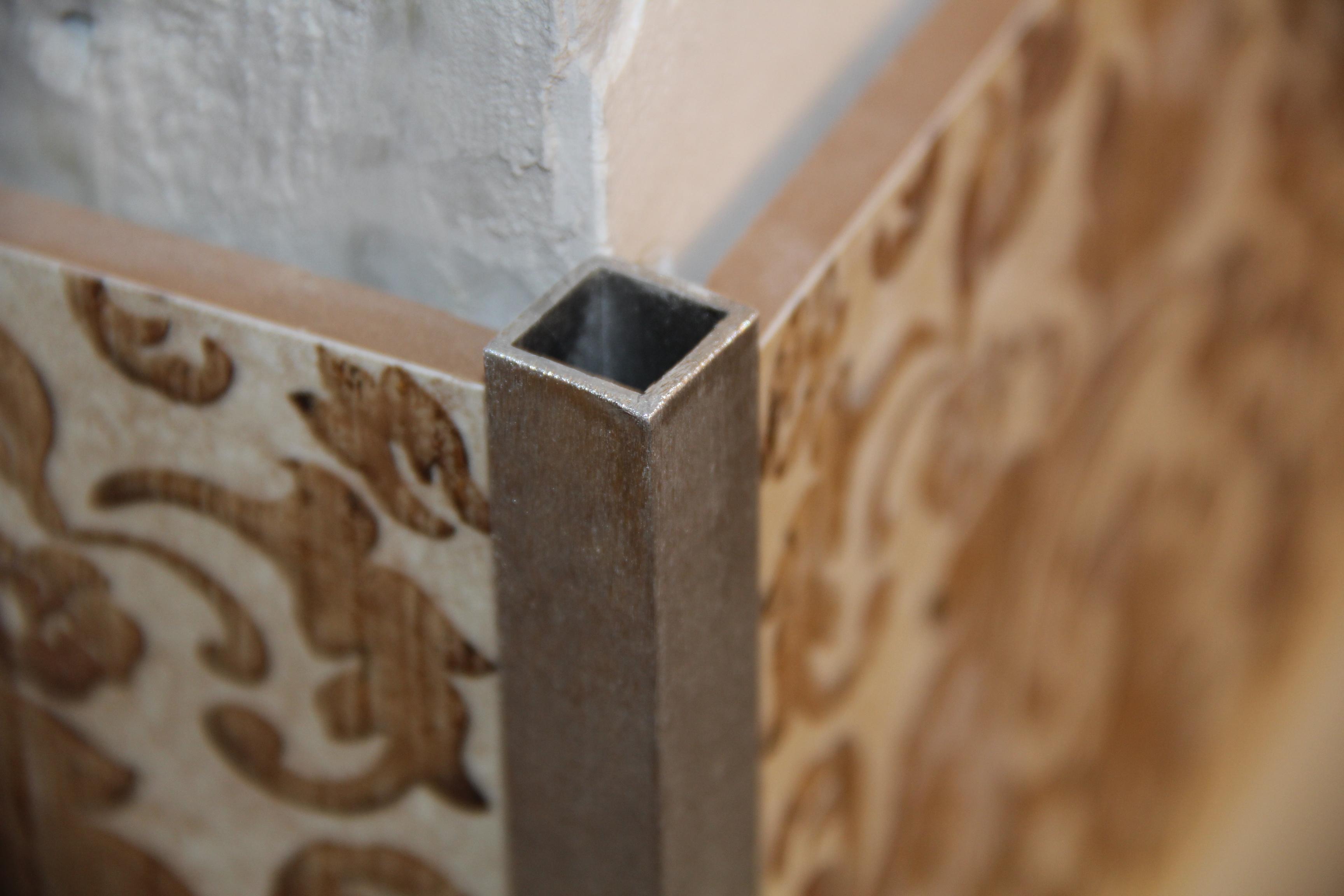 Как сделать наружный угол для плитки 538