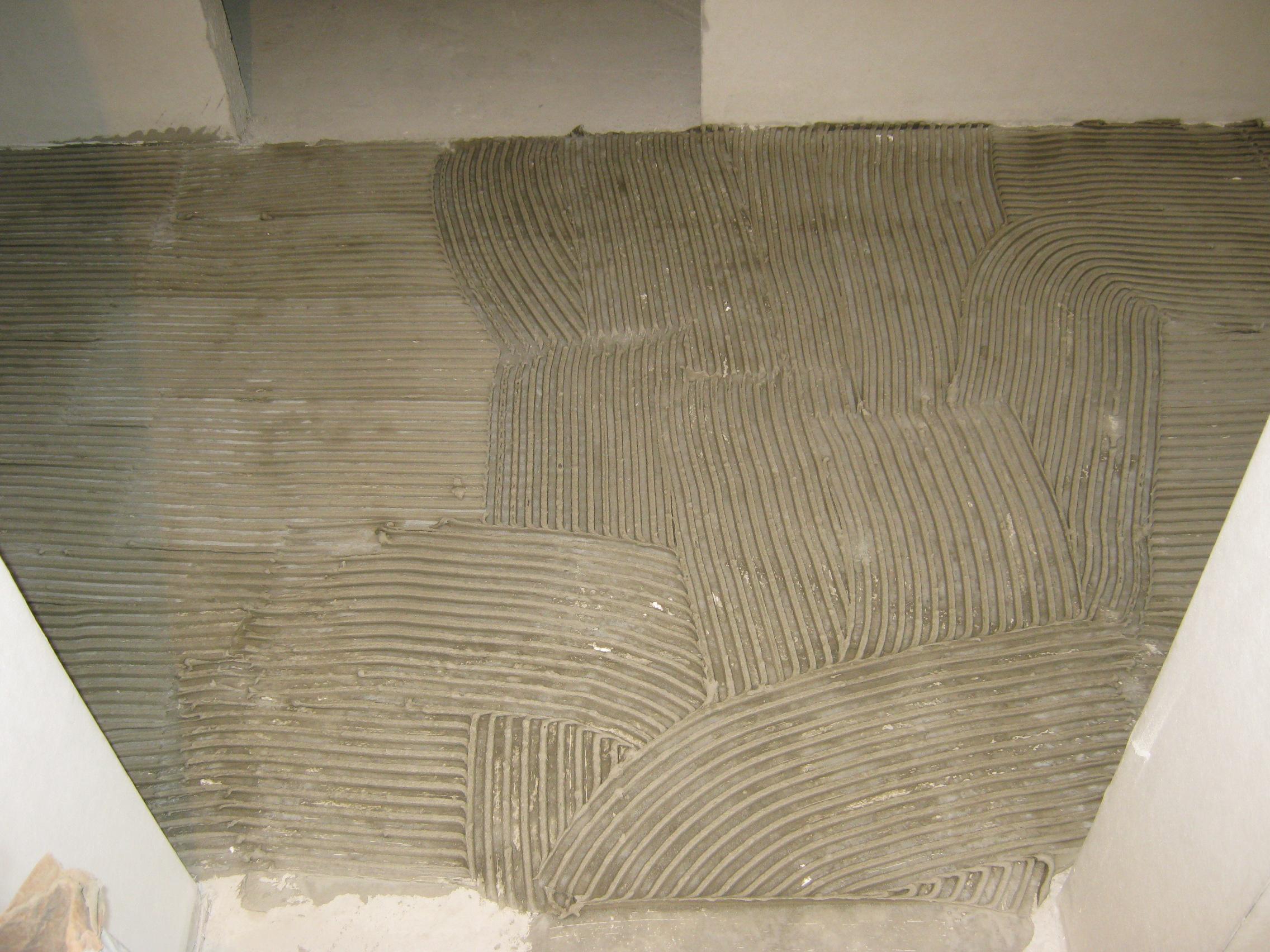 Бетонная стяжка на деревянный пол своими руками