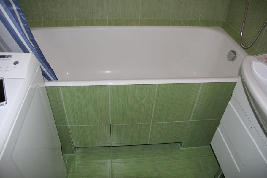 Экран из пвх под ванную своими руками 8